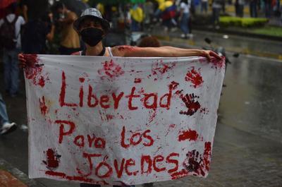 Revisa CIDH situación en Colombia tras represión de protestas