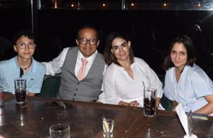 09062021 Luis Alfonso Mejía, Amy Mejía, Camila Mejía y Juan Pablo Mejía.