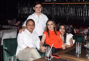 09062021 Manuel Ortíz, Adriana Ortíz, Manuel Ortíz Jr. y Paulina Ortíz.