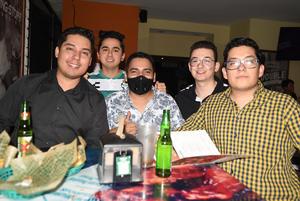 10062021 Daniel, Rodrigo, Emiliano, Maximiliano y Julio.
