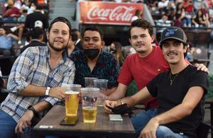 11062021 Sebastián, Gerardo, Carlos y Eduardo.