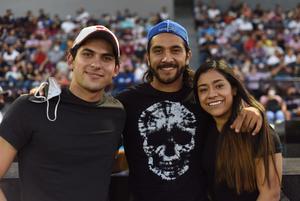 11062021  Denisse Sánchez, Santiago Ramos y José Fernández
