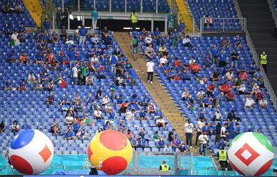 Así se vive el inicio de la Eurocopa 2020 en Roma