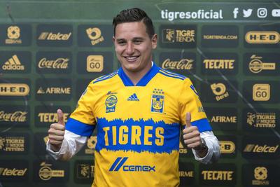 Florian Thauvin asegura que fue 'muy fácil' darle el sí a Tigres