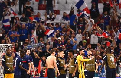 Group F France vs Germany