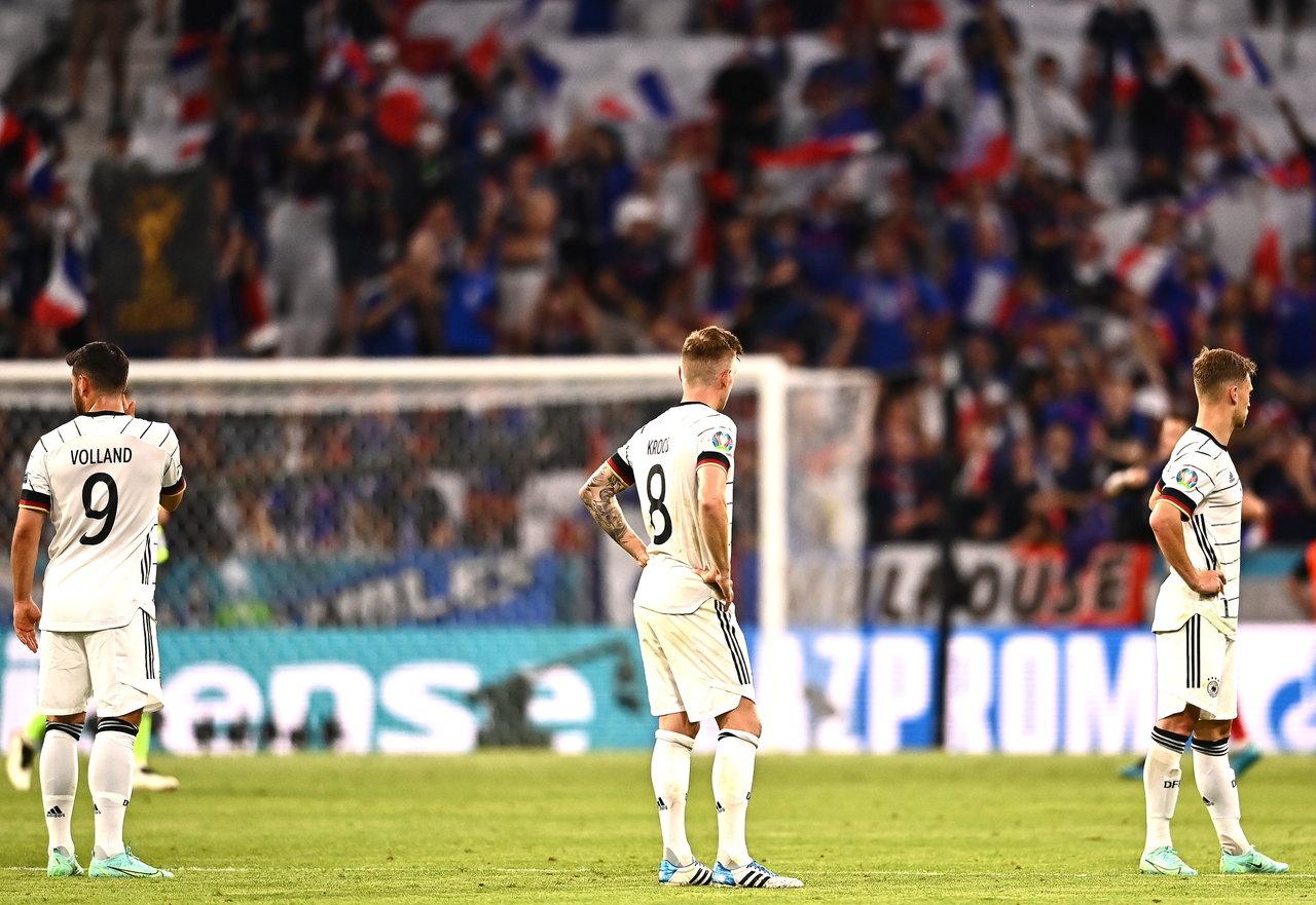 Alemania cae con autogol ante Francia en la Eurocopa