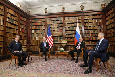 Biden y Putin mantienen su primer cara a cara en Ginebra