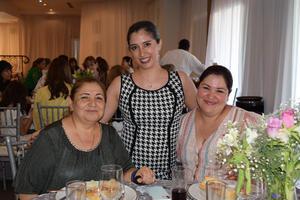 16062021 Lupita Martínez, María Elena Velazco y Paty Almaraz.