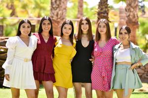 18062021 Mika, Alondra, Tania, Camila, Frida y María.