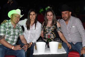 21062021 José Federico Cabrales, Yadira Rubio, Cecy Villa, y Anibal Rubio.