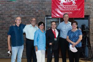 23062021 Armando Martin, Gerardo Martin, Bertha Bello, maestro Guillermo Prieto S.J., Luis Morales, Maribel Sirgo.