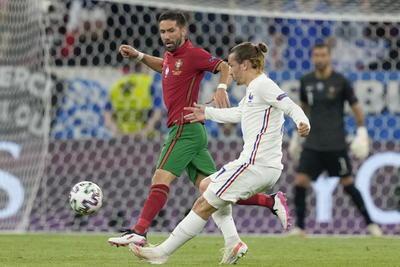 Cristiano Ronaldo y Karim Benzema anotan los goles del empate entre Portugal y Francia en la Eurocopa