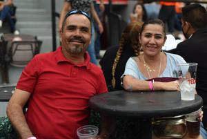 25062021 David Martínez y Paloma Vidaña.