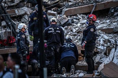 Respuesta faltan a más de 36 horas del derrumbe del edificio en Miami-Dade