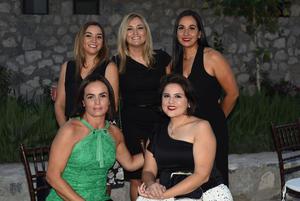 01072021 Carolina Porras, Diana Porras, Irene Salum, Carolina García y Faby Huereca.