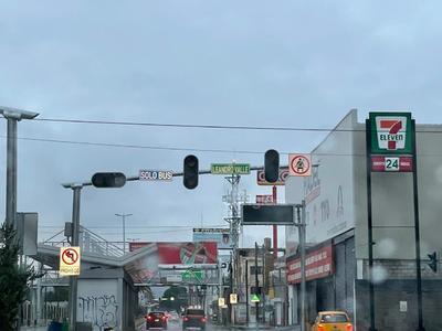 Los semáforos en bulevar Revolución dejaron de funcionar.