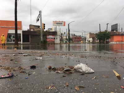 Lluvias causan estragos en La Laguna