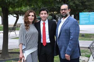 02072021 Alejandra Enríquez de Sánchez, Aníbal Sotelo y Carlos Sánchez.