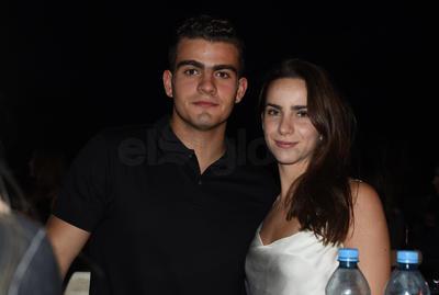 Diego Yarza y Mariana Villarreal.