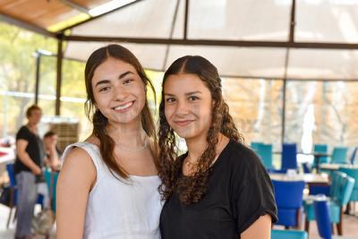 Valeria Muñoz y Valeria Rodríguez.