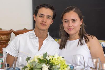 María Paula y Francisco.