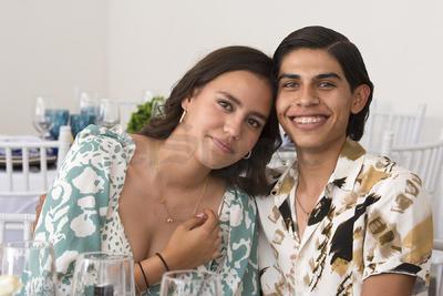 Romina Salazar y Sebastián García.