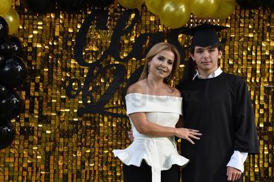 Paola Lamberta y Andrés Villarreal.