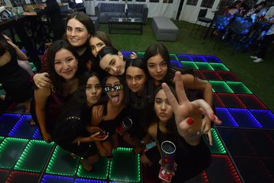 Motse, Mariana, Kamila, Lorenza, Valeria, Andrea, Mariana, María y Luciana.
