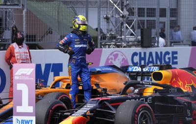 Verstappen, Norris y Pérez, primeros en salida del Gran Premio de Austria