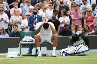 Nick Kyrgios se retira de Wimbledon por lesión
