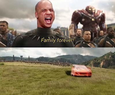 ¿A quién le importa la lógica cuándo tienes familia?; se disparan los memes de Dominic Toretto