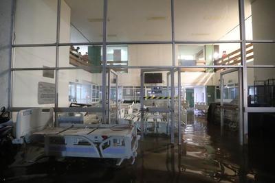 Granizada en Edomex deja una persona muerta; hospital tuvo que ser desalojado