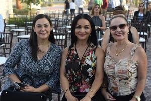 06072021 Cecilia Franco, Rocío Betancourt y Claudia Cabrera.