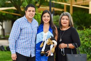 08072021 Jorge Del Moral, Mariana Del Moral y Socorro Fraire.