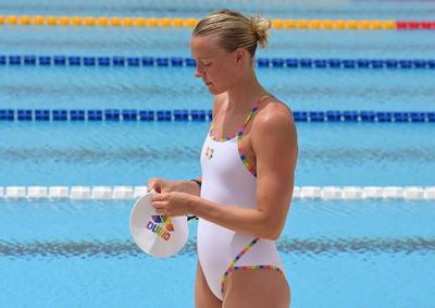 """La rival a vencer en los sprites de mariposa y estilo libre es Sarah Sjostrom. La sueca """"chica dorada"""", es ocho veces campeona del mundo."""