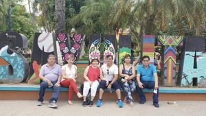 08072021 Disfrutando en las playas de Sayulita Nayarit, José Antonio, Rosy, Angélica, Antonio, Carmen y Rogelio.
