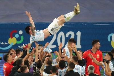 Argentina es campeón de la Copa América