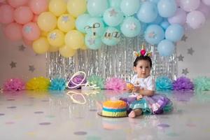 12072021 La pequeña Luz Aurora Soto Ramírez festejando su primer año de vida. Es hija de José Soto y Saraí Ramírez.
