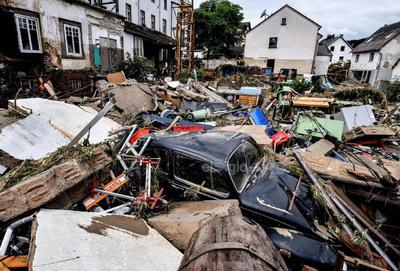 La zona más afectada es la región sur de Valonia, y en particular las provincias de Lieja (este) y Luxemburgo (sur).