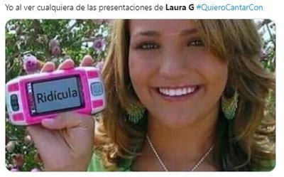Juzgan con memes a Laura G y su 'escalofriante' voz en Venga la Alegría
