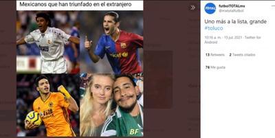 Llegan los memes de 'Toluco', la historia de amor que triunfó en la Copa Oro