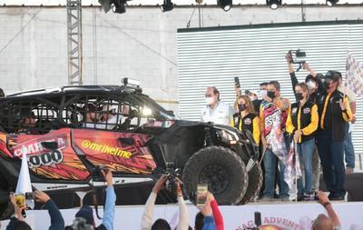 Rally Coahuila 1000 edición 2021 da inicio desde Saltillo, Coahuila