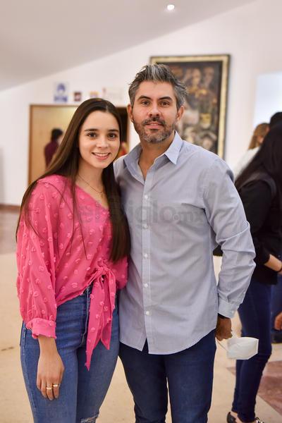 Karime Abdo y Cristopher Pollet.
