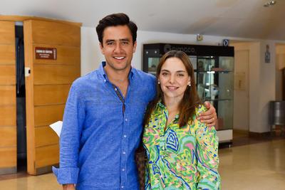Gerardo Berlanga y Andrea Arenal.