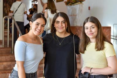 Mariela Guerrero, Isabela Herrera y María José Herrera.