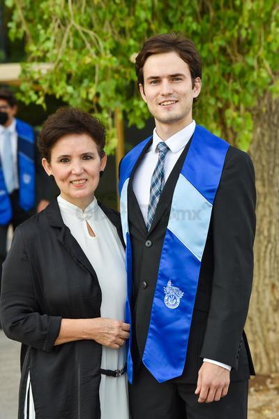 Sofía y David Carvajal.