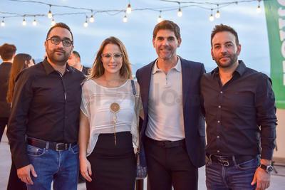 José Carlos Seañez, Sofía Berlanga, Miguel Ruiz Villalobos y Manuel Seañez.