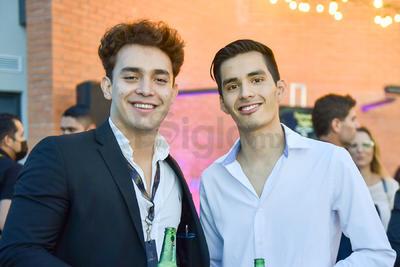 Moisés Nevarez y Mario Hernández.