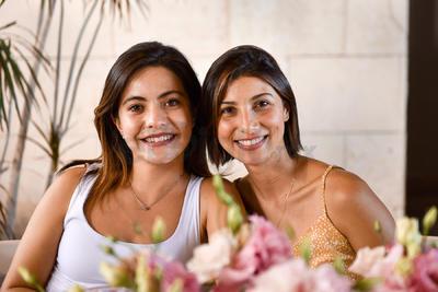 Fhara Alemán y Brenda Rodríguez.