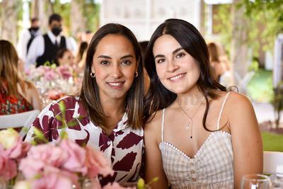 Angelina Morales y Ale Lugo.